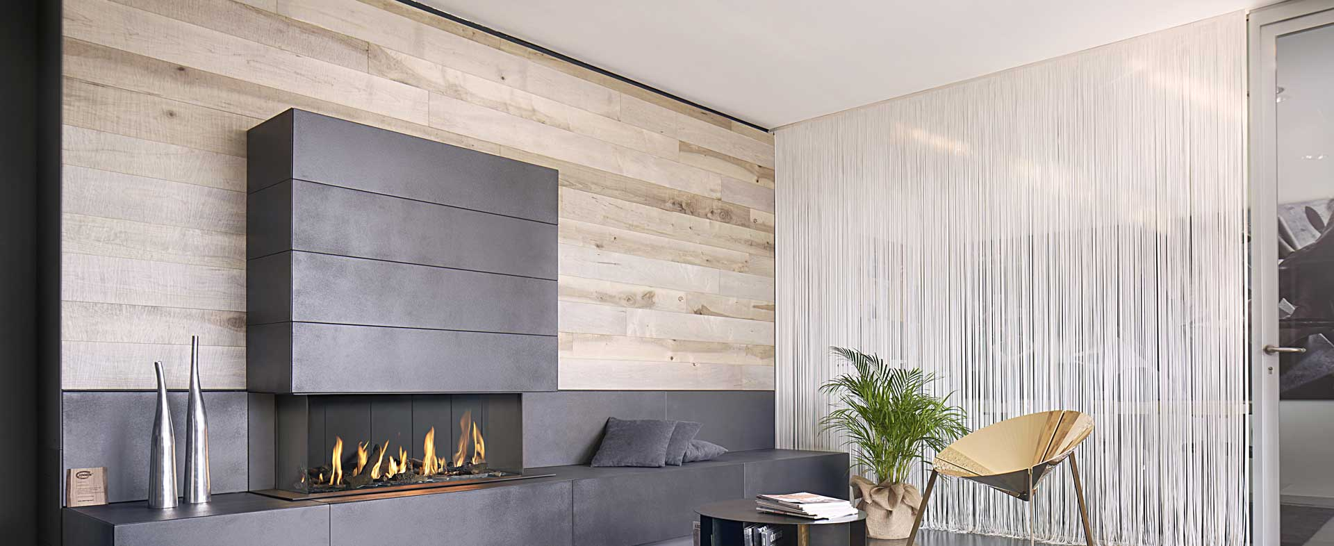 Sawn Hard Maple wall covering  Epoch Planks