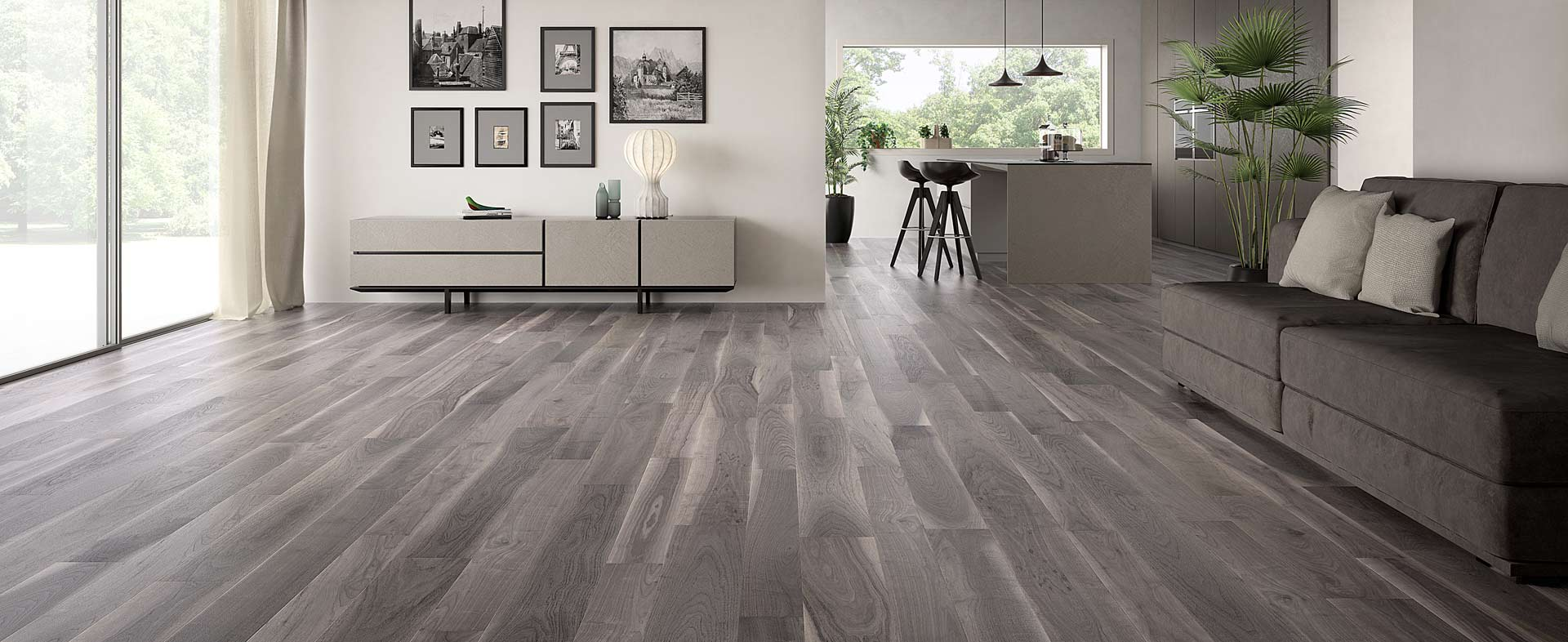 Bark Walnut Pregio Planks