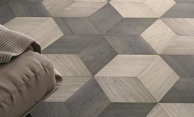 Modules Planks Placed as you wish, like a puzzle, giving new forms to the parquet flooring.