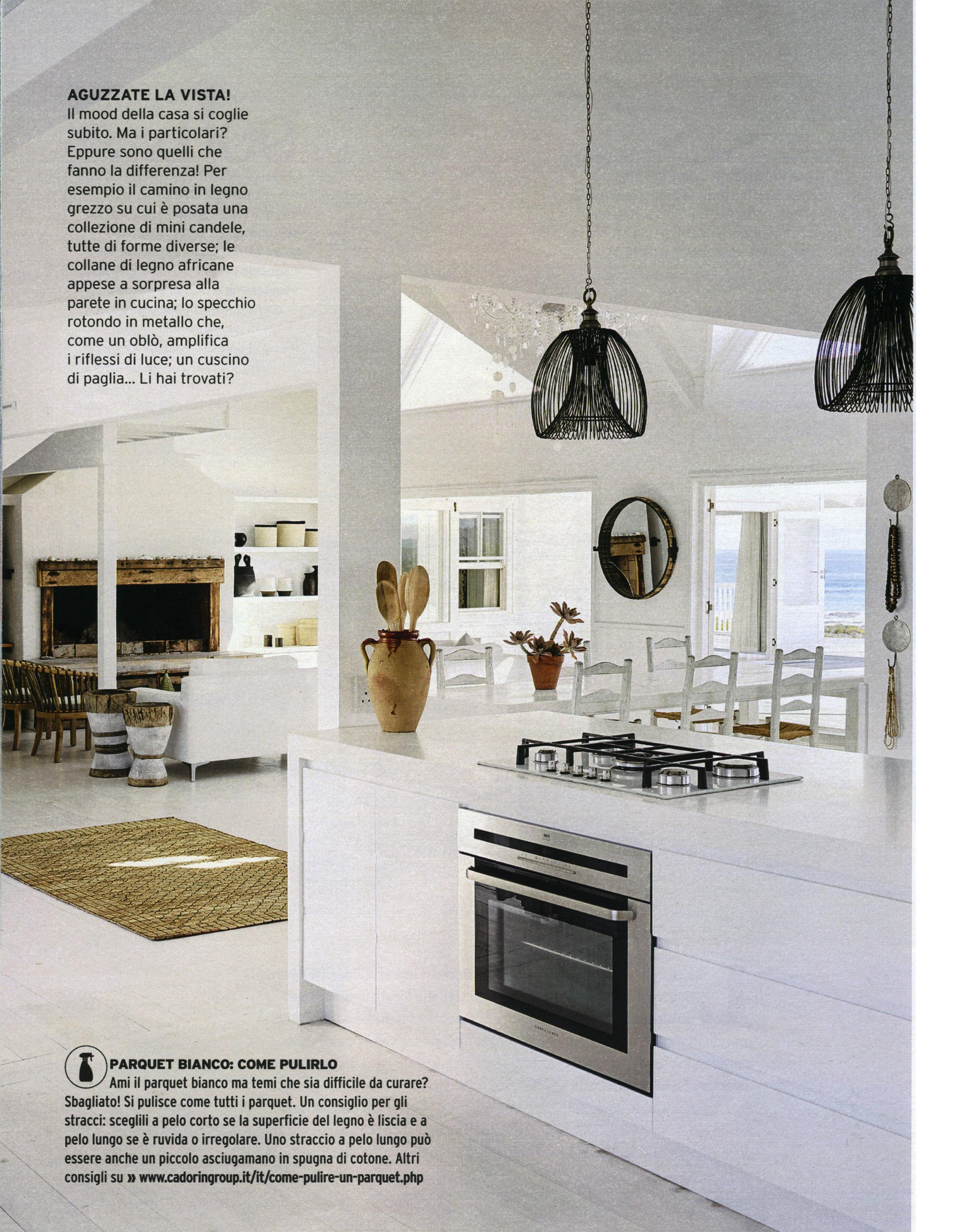 Lo Specchio In Cucina wooden parquet flooring decoration&design magazines august