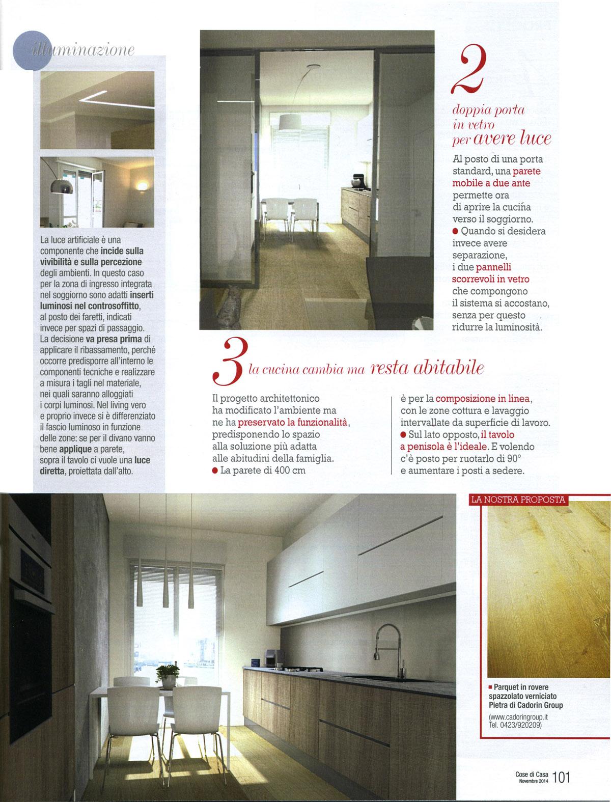 Ante Cucina In Vetro.Wooden Parquet Flooring Decoration Design Magazines Nov 2014 Cadorin