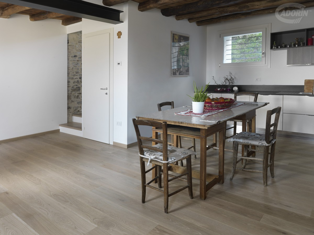 Rovere Rustico Americano - Brushed rough effect