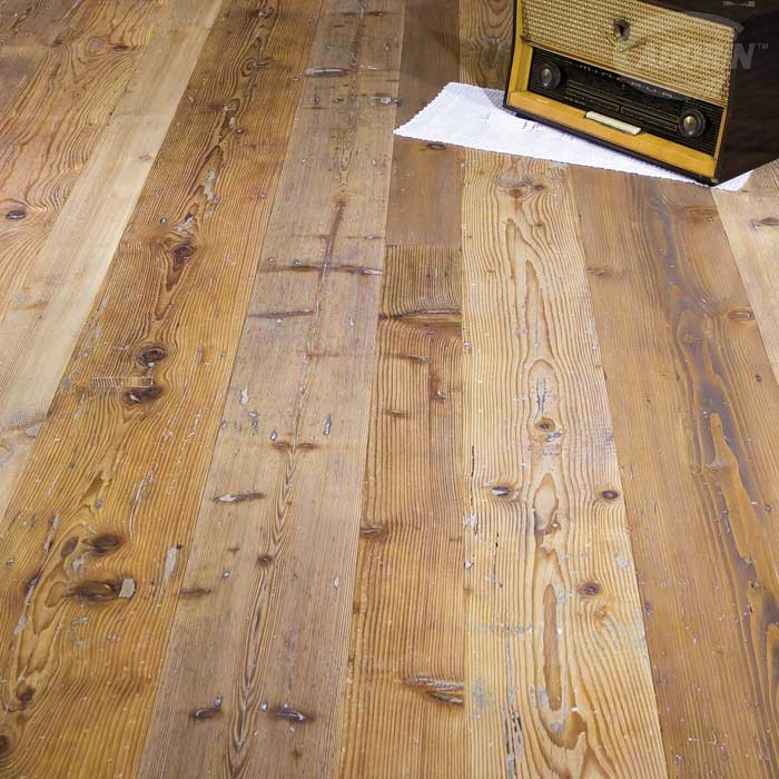 Antique Fir - Brushed, Waxen natural oiled and waxed