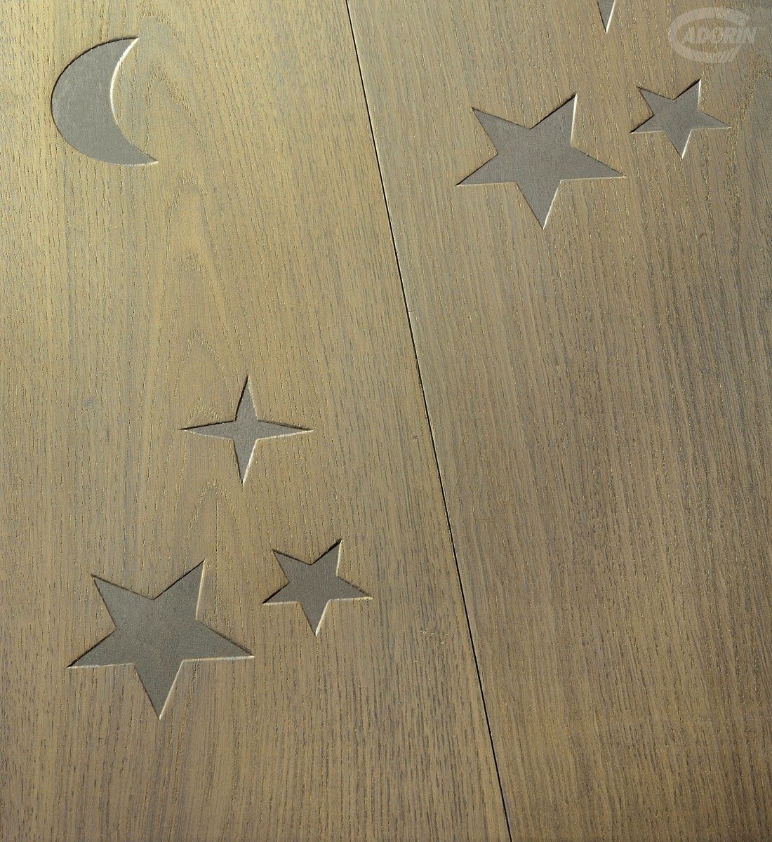 Moon and Stars -