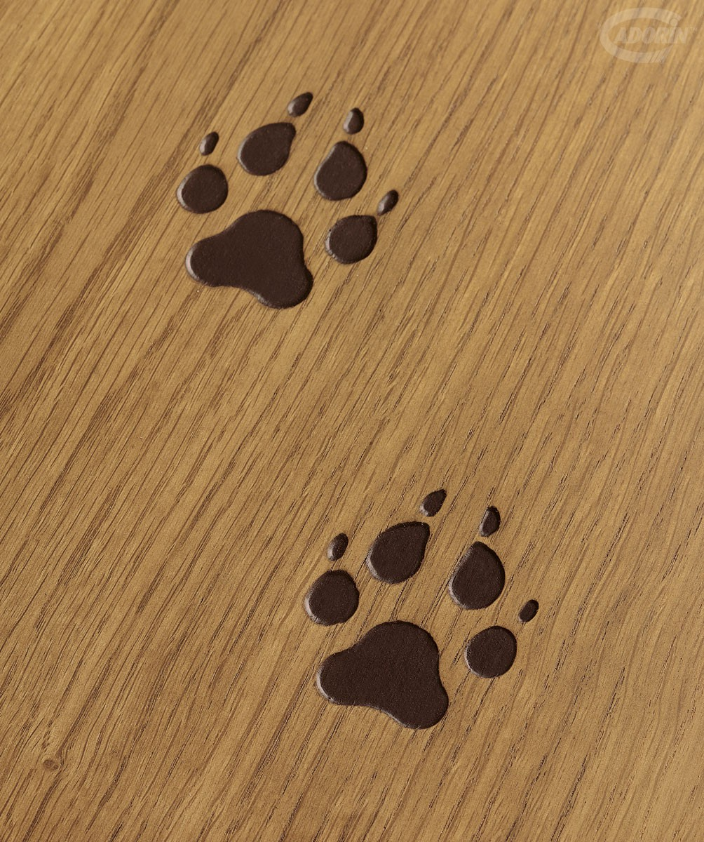 Cadorin Wood Floors Footprints Wooden Planks Collection