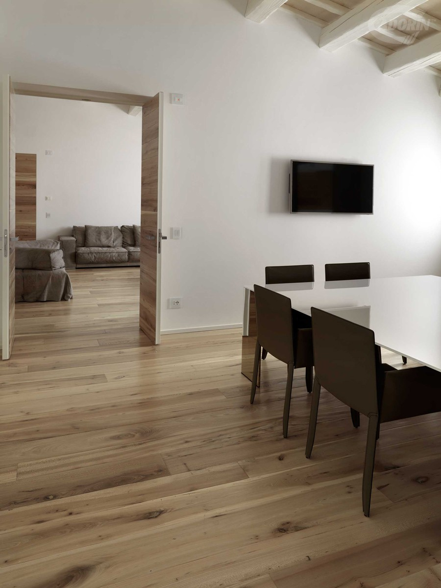 Casera Elm - Hand-planed and Rounded, Autumn oiled
