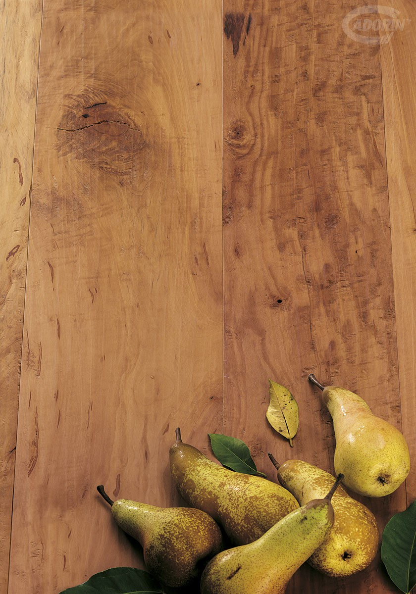 Spaccato Pear - Hand planed, wax-effect varnished