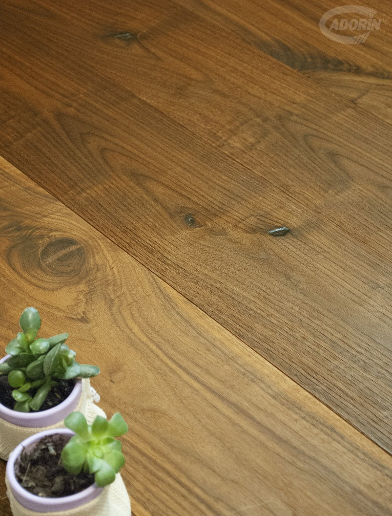 Rustic American Walnut - Brushed and Natural Oiled