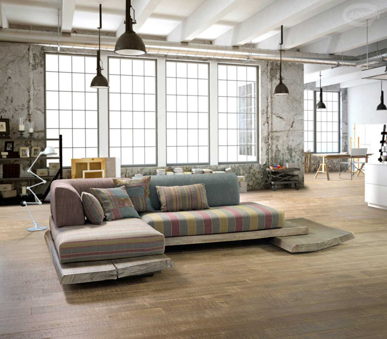 sofa loft hannover interesting hanomag uboat hall. Black Bedroom Furniture Sets. Home Design Ideas