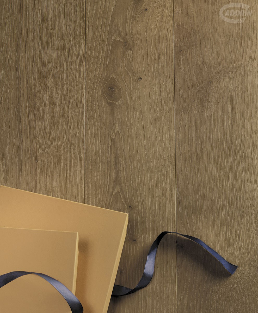 European Oak - London Smoke - Brushed