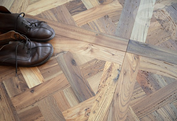 Antique Elm Pattern - Brushed, natural oiled