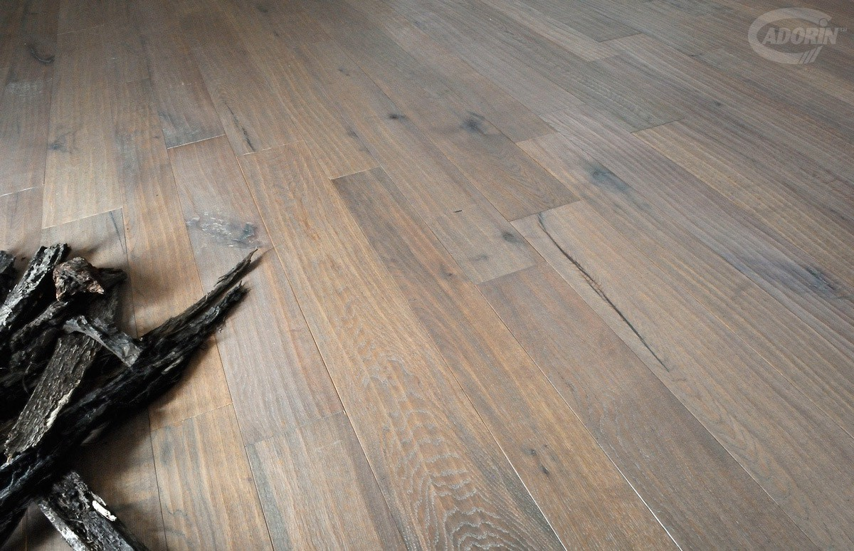 Spaccata Steamed Quercus - Planed - Natural oiled Chalet