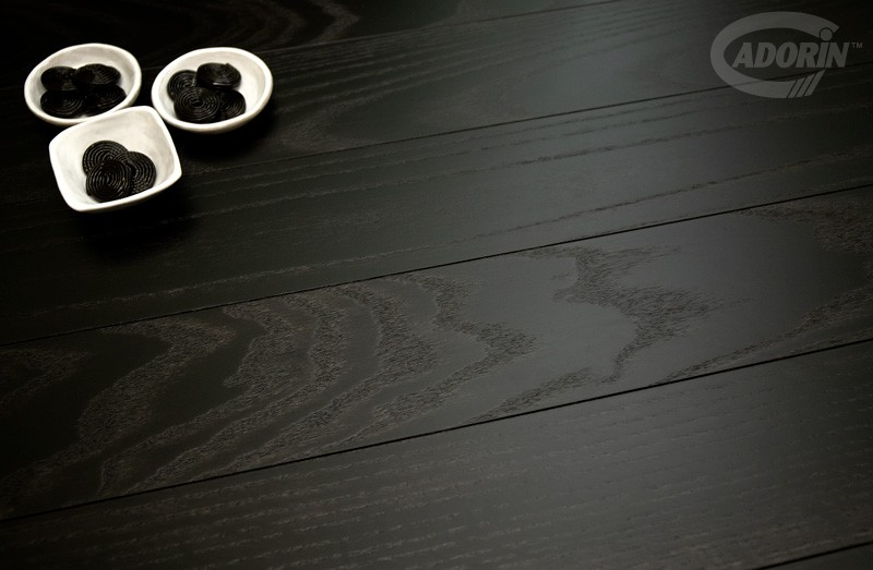 European Oak Liquorice - Brushed