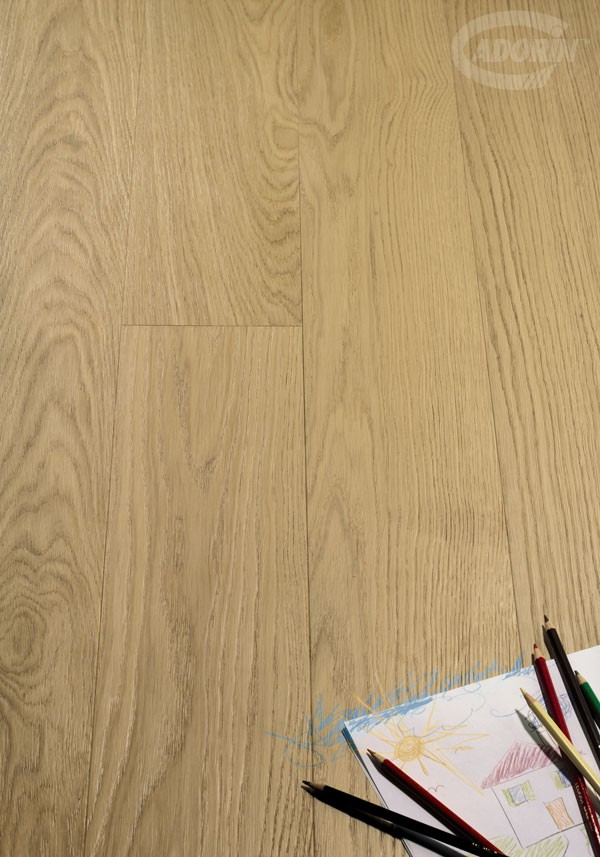 European Select Oak - Brushed and rough effect
