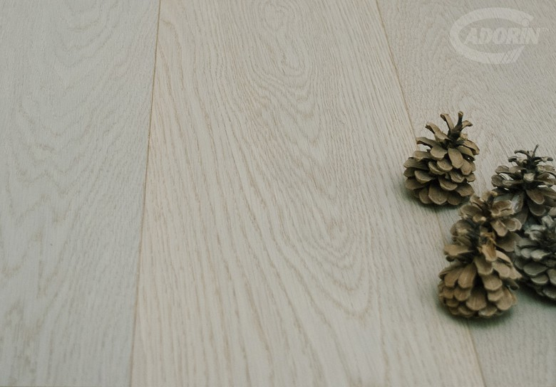 American Select Oak - Brushed and light grey varnished
