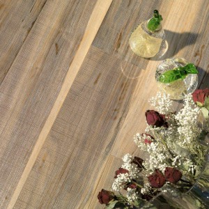Woven Walnut Planks - White GOLD Dust -