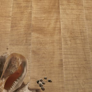 Sawn Hard Maple - Antiqued varnished