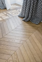 Art Deco Oak - Chevron 60° -