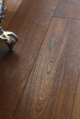 Antique Teak - Brushed, natural oiled and waxed