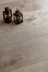 Contorta Quercus - Lime effect working - Antiqued Marble varnished