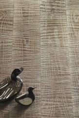 WHITE GOLD Leaf 12kt - Sawn effect Oak
